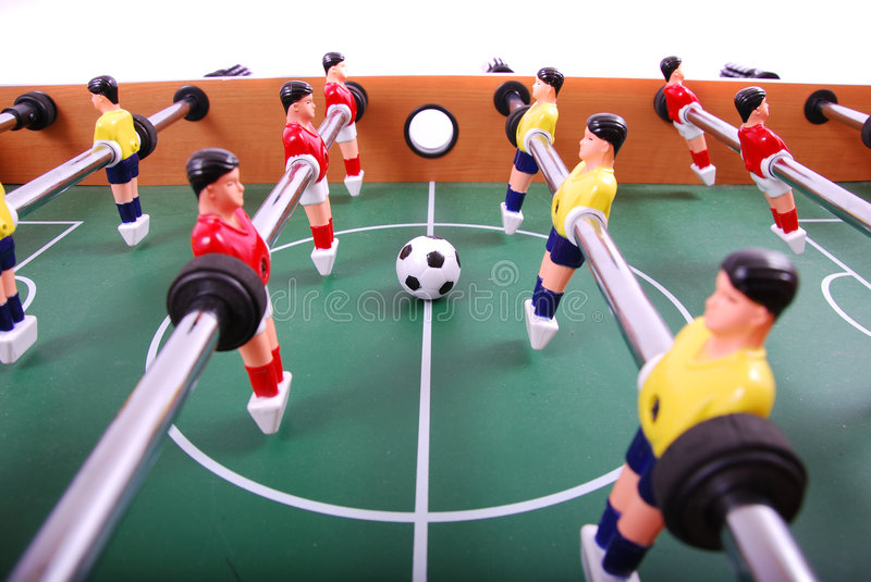 Download Le football de Tableau photo stock. Image du tabletop - 8653186
