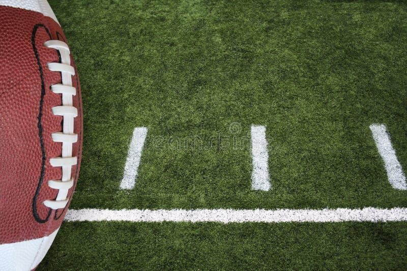 Le football et zone photo libre de droits