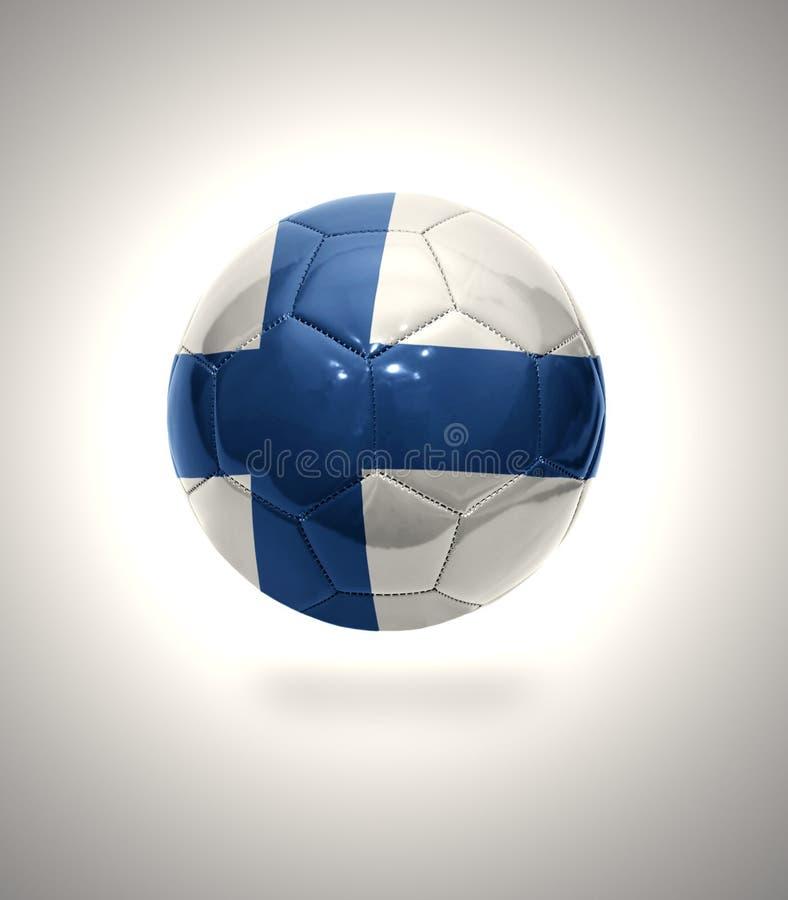 Le football finlandais illustration de vecteur