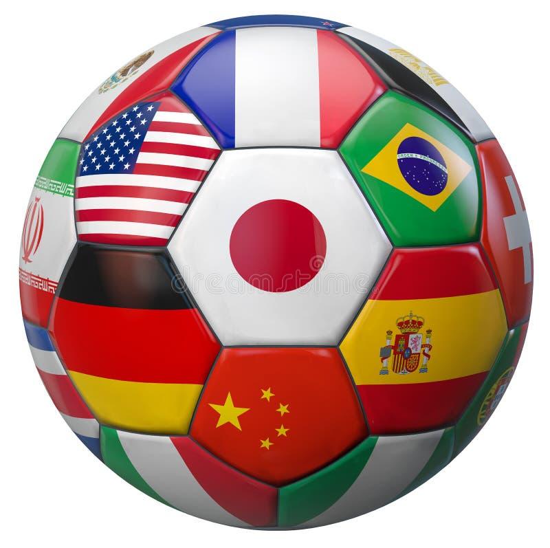 Le football Japon du monde illustration libre de droits