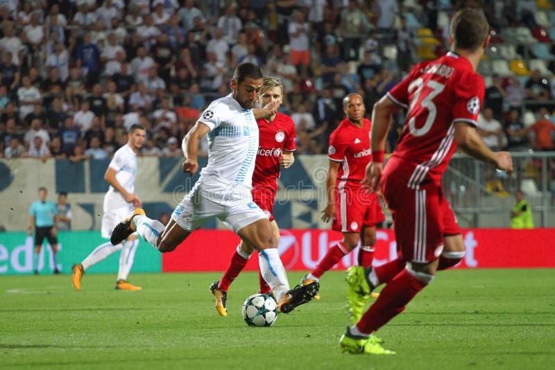 Le football - ligue de champions d'UEFA photo libre de droits