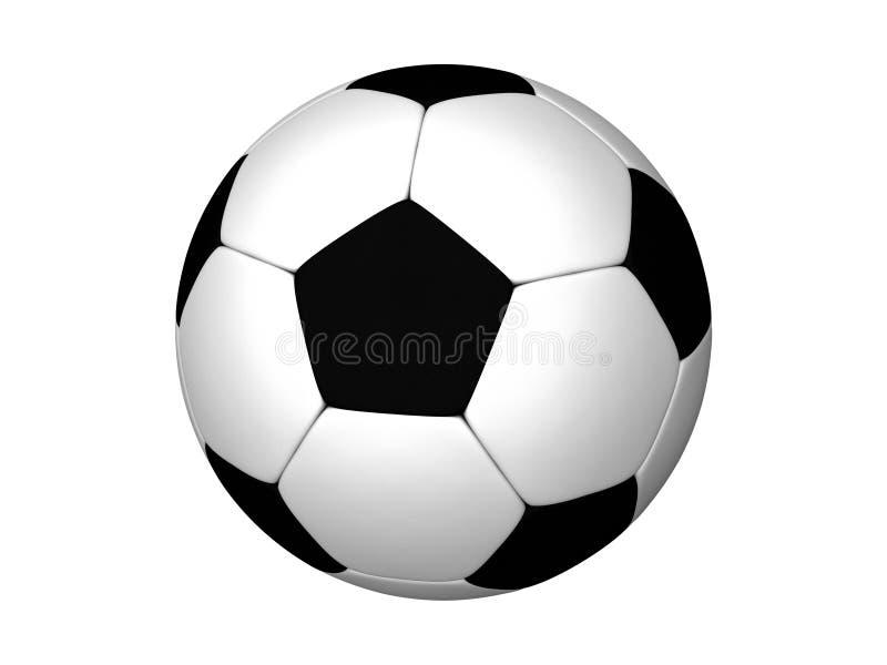 Le football ou le football illustration libre de droits