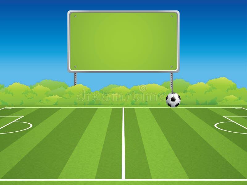 le football stadium illustration de vecteur