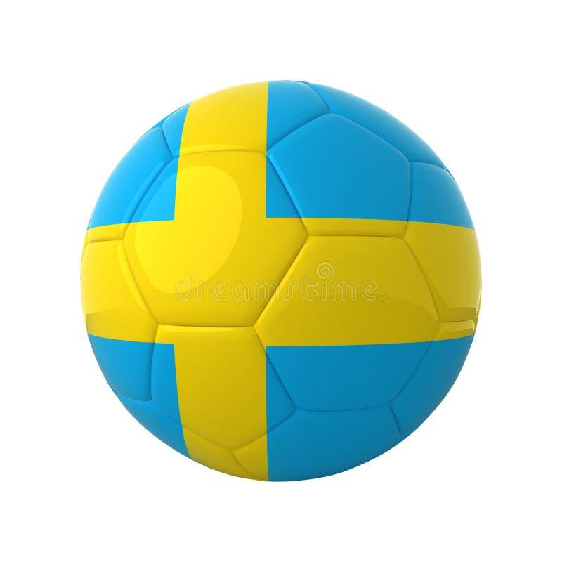 Le football suédois. images libres de droits