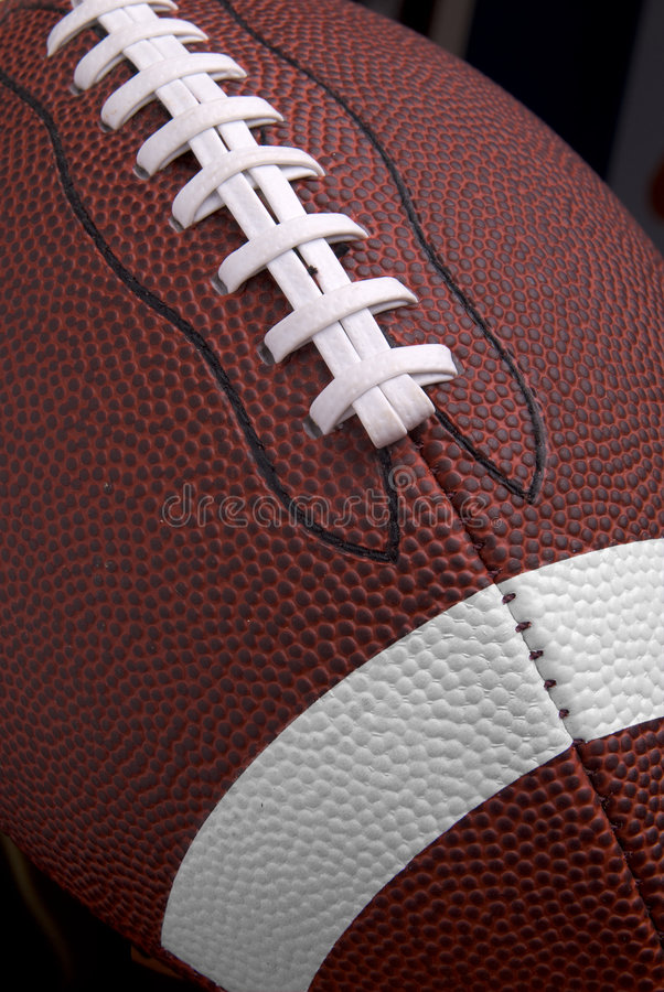 Le football vers le haut-se ferment images stock
