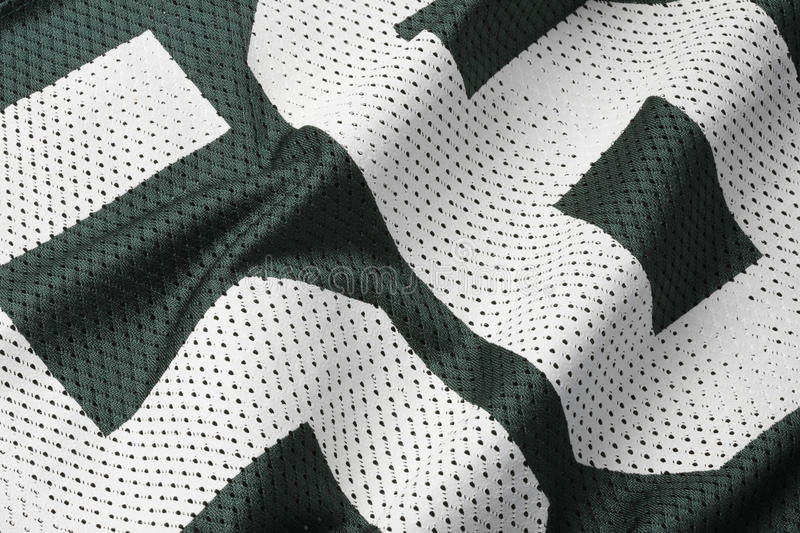 Le football vert Jersey images stock