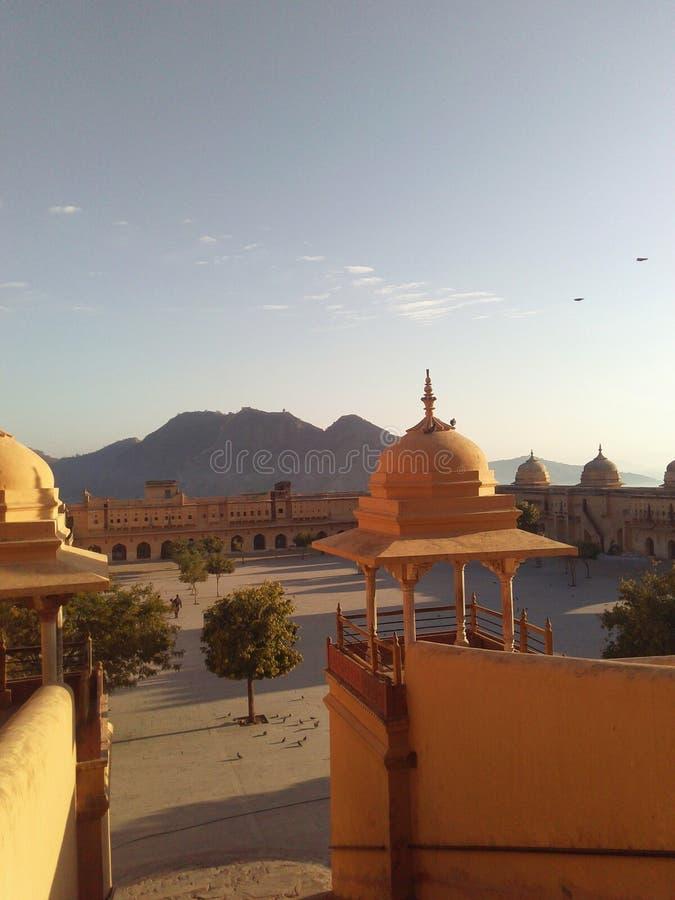 Le fort de Jaipur embellissent photos libres de droits
