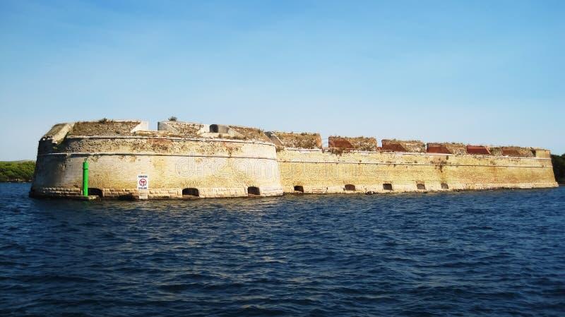 Le fort de Saint-Nicolas images stock