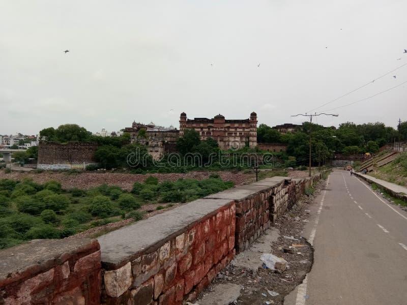 Le fort du kota en Inde image libre de droits