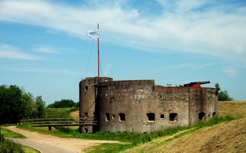 le fort muiden image stock