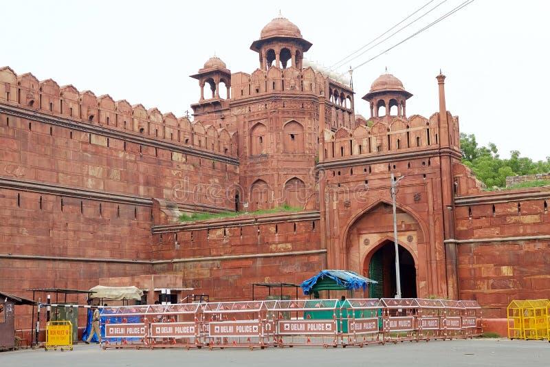 Le fort rouge à Delhi, Inde images stock