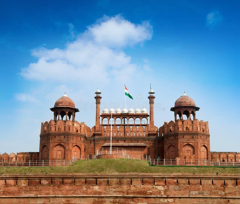 Le fort rouge Delhi photos libres de droits