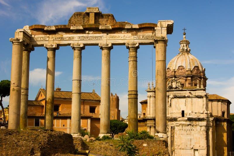 Le forum romain image stock