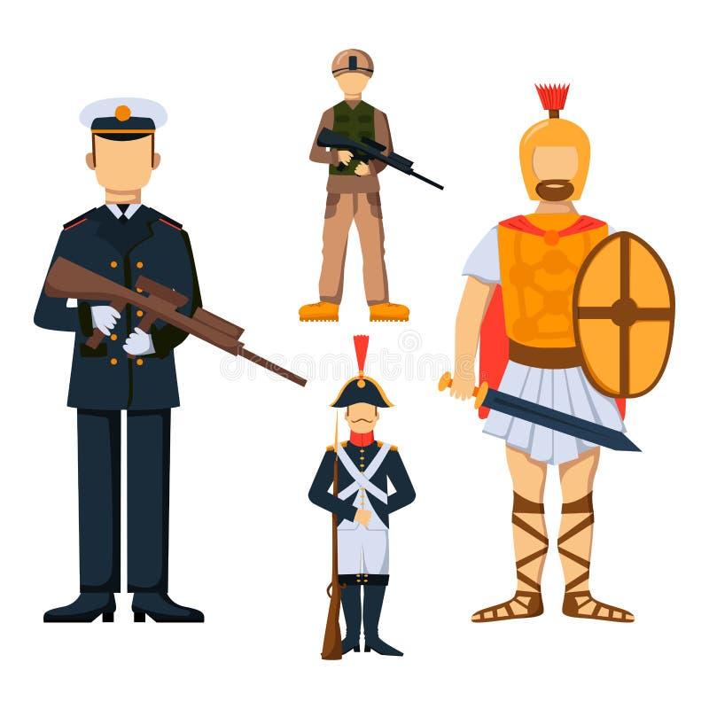 Le forze militari della siluetta dell 39 uomo dell 39 armatura - Armatura dell immagine del dio ...