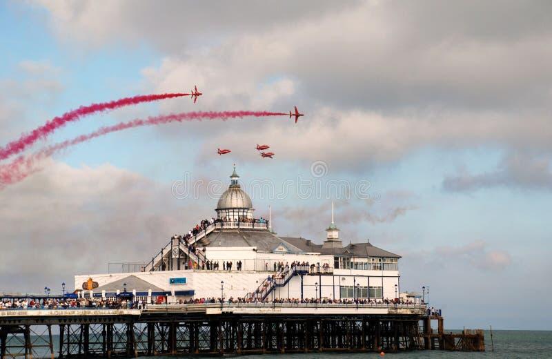 Le frecce rosse, Eastbourne fotografie stock