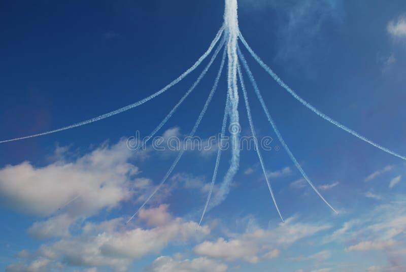 Le frecce rosse, Eastbourne immagini stock libere da diritti