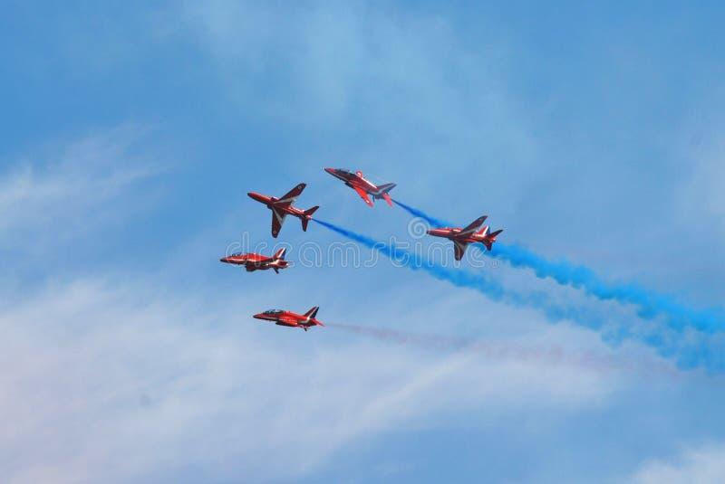 Le frecce rosse, Eastbourne fotografie stock libere da diritti