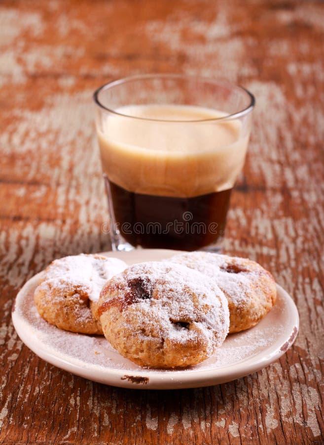 Le fruit hachent des biscuits de surprise image stock