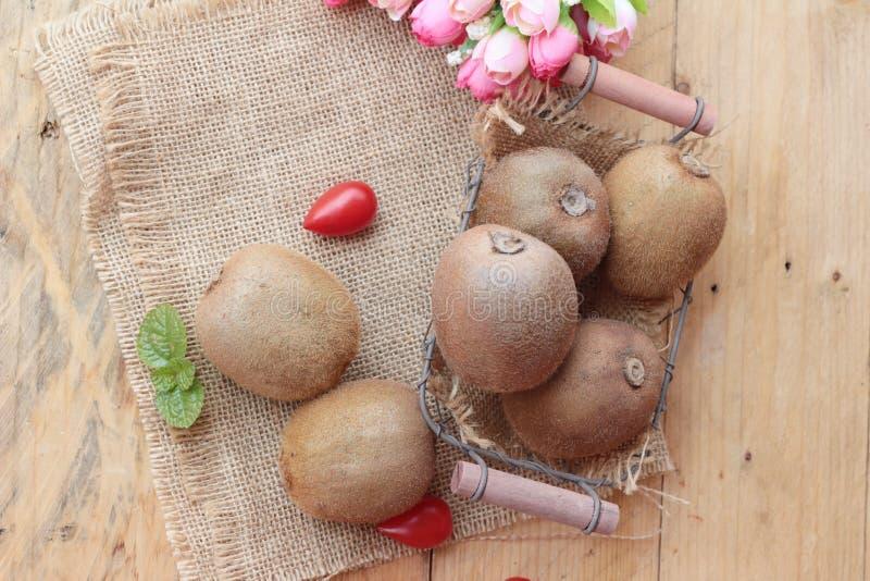 Le fruite de kiwi juteux est délicieux photographie stock libre de droits