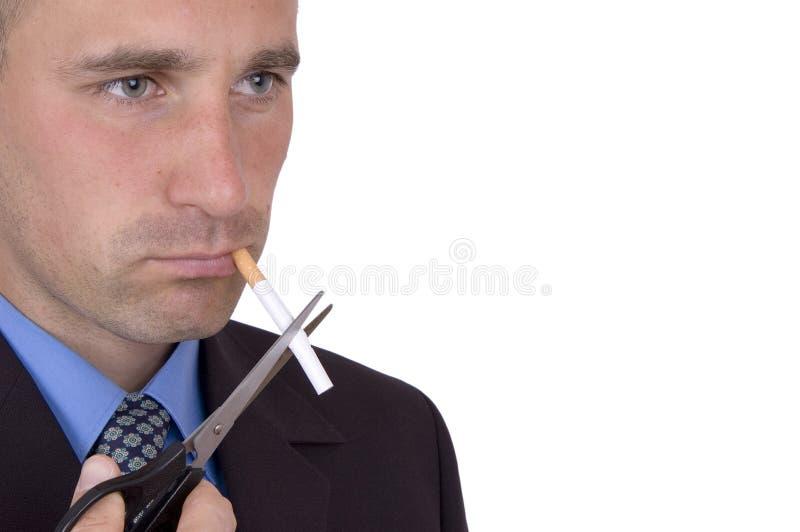 Le fumage peut détruire photo libre de droits