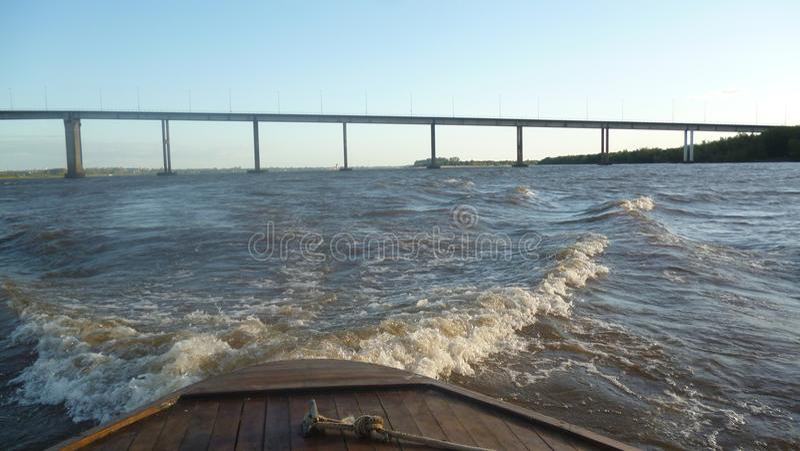 Le Général Artigas Bridge images stock
