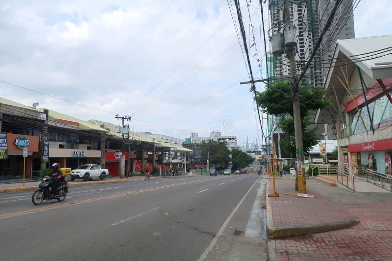 Le Général Maxilom Avenue photos libres de droits