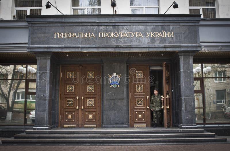 Le Général Prosecutor de l'Ukraine photo stock