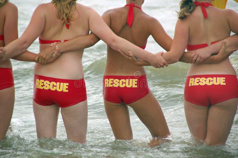 Le garde côtier en Hollandes photo libre de droits