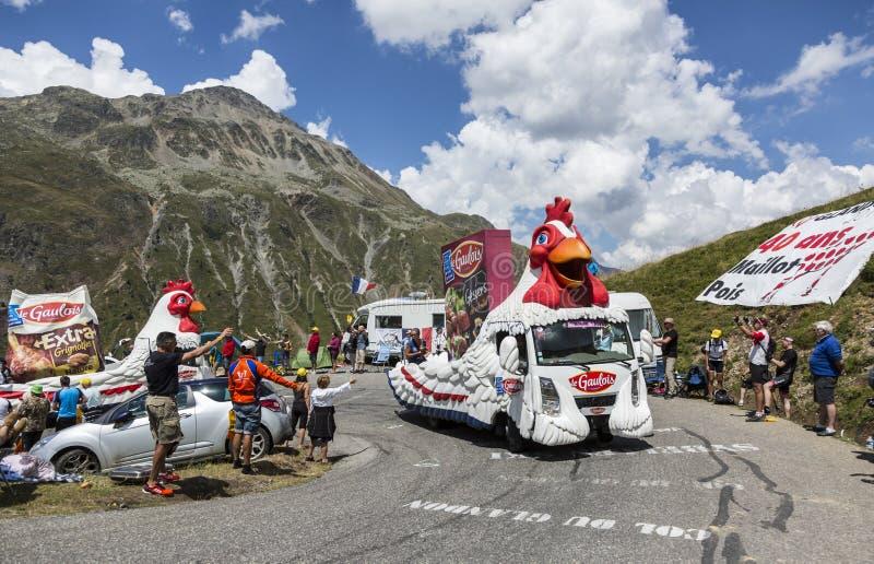 Download Le Gaulois Caravan -环法自行车赛2015年 编辑类库存照片 - 图片 包括有 传统, 体育运动: 59102518