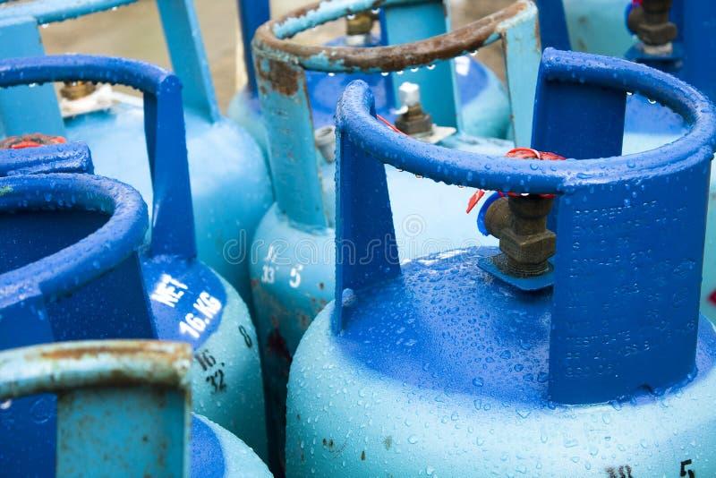 Le gaz peut photo stock