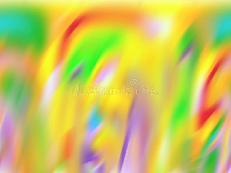 Le geometrie rosse gialle astratte dell'arcobaleno, fondo allegro delle geometrie, grafici, fondo astratto e struttura immagine stock libera da diritti