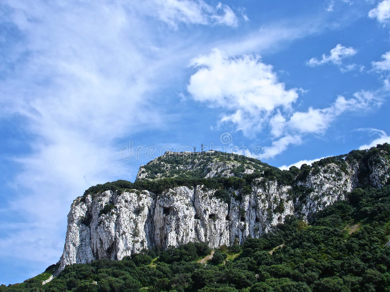 le Gibraltar photo stock