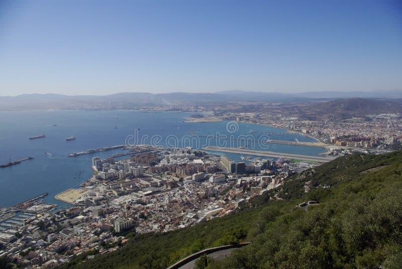 Le Gibraltar - La Linea photos stock