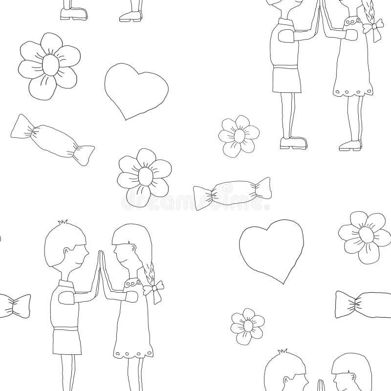 Le giovani coppie nell'amore si divertono la i i nuovi anni vigilia o il giorno dei biglietti di S. Valentino della st fotografie stock libere da diritti