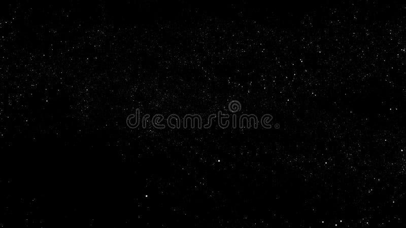 le gisement d'étoile 3d rendent illustration de vecteur