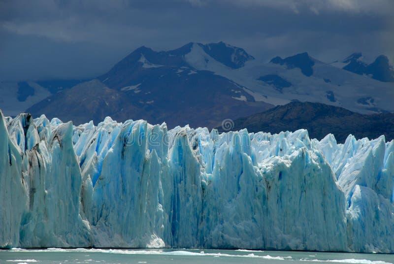 Le glacier d'Upsala dans le Patagonia, Argentine. images libres de droits