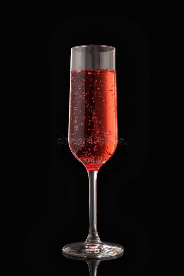 Le glasse du champagne rose photo libre de droits