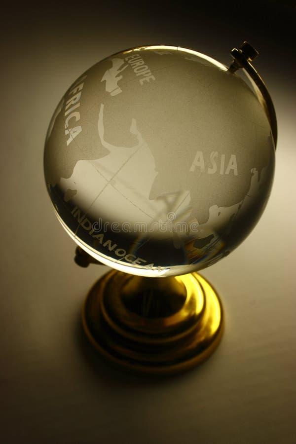 Le globe en verre photographie stock libre de droits