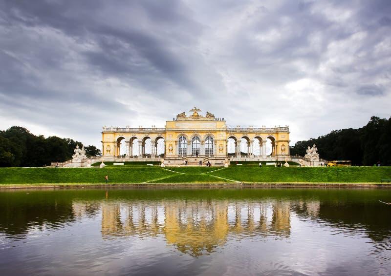 Le Gloriette, Vienne image stock