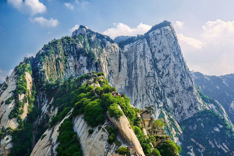 Le glory_landscape_xian huashan images stock
