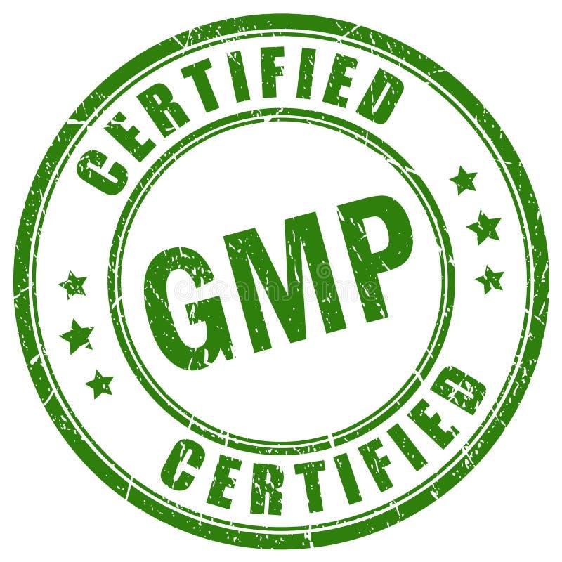 Le Gmp a certifié le timbre de vecteur illustration libre de droits