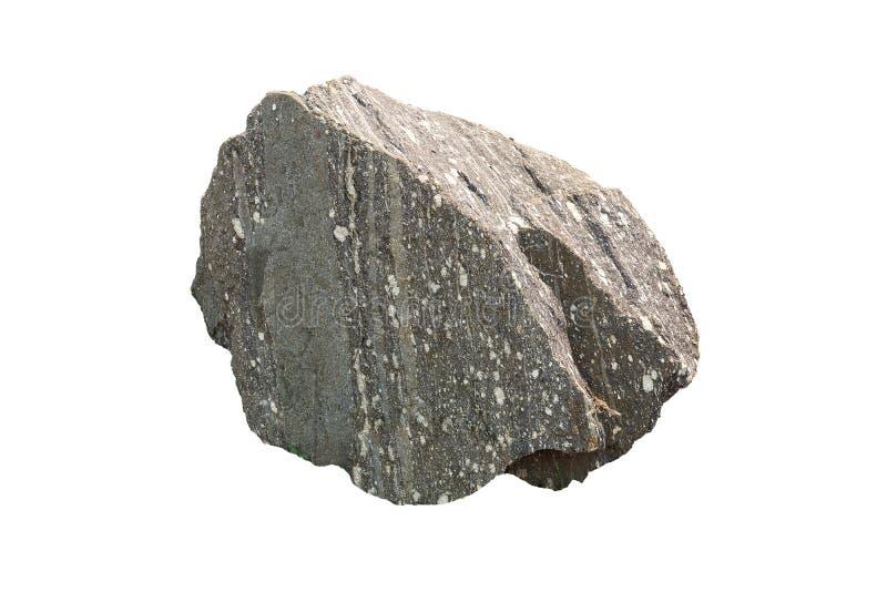 Le gneiss est constitu? par des processus m?tamorphiques ? hautes temp?ratures et ? haute pression agissant sur des formations co image stock