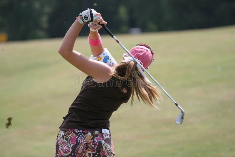 Le golf d'Evian de crémeuse de Paula maîtrise 2006 images libres de droits