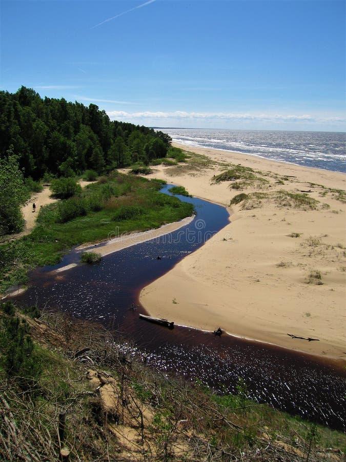 Le Golfe baltique photos stock