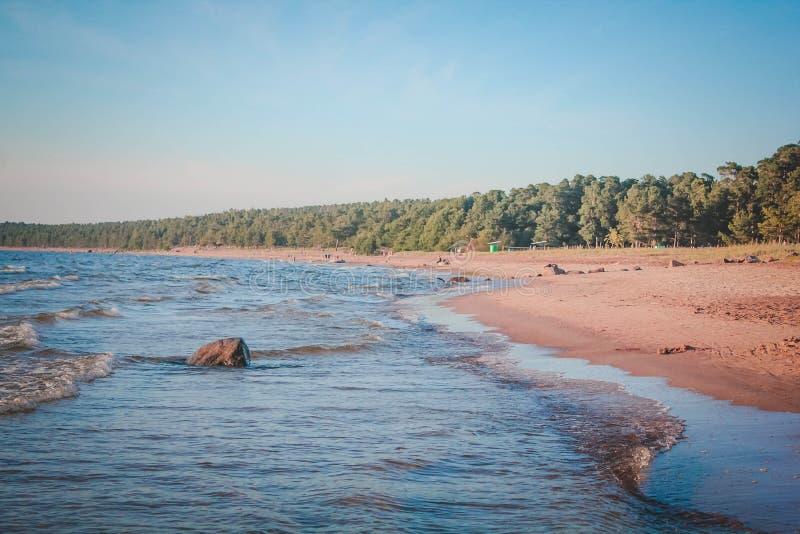 Le Golfe de la Finlande image libre de droits