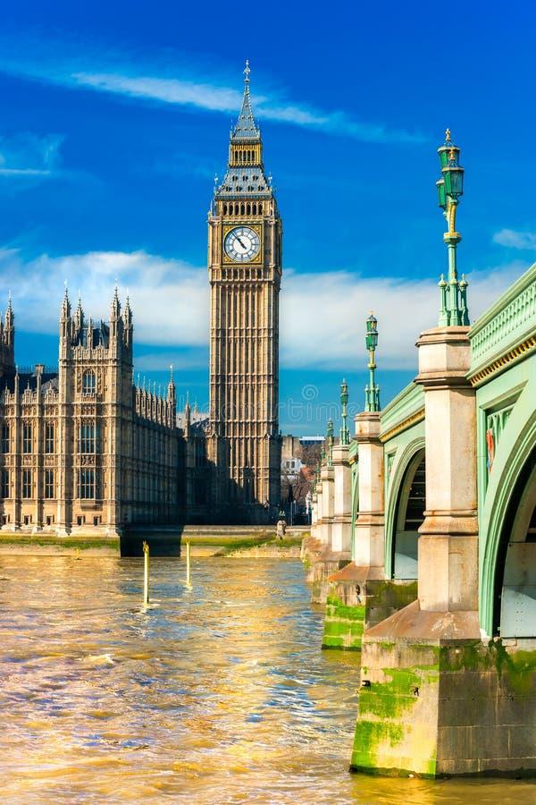 Le grand Ben, Londres, R-U. image stock