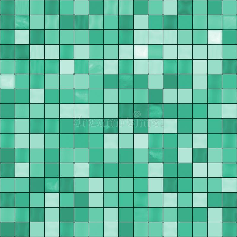 Le grand jade vert sans joint couvre de tuiles le fond illustration libre de droits