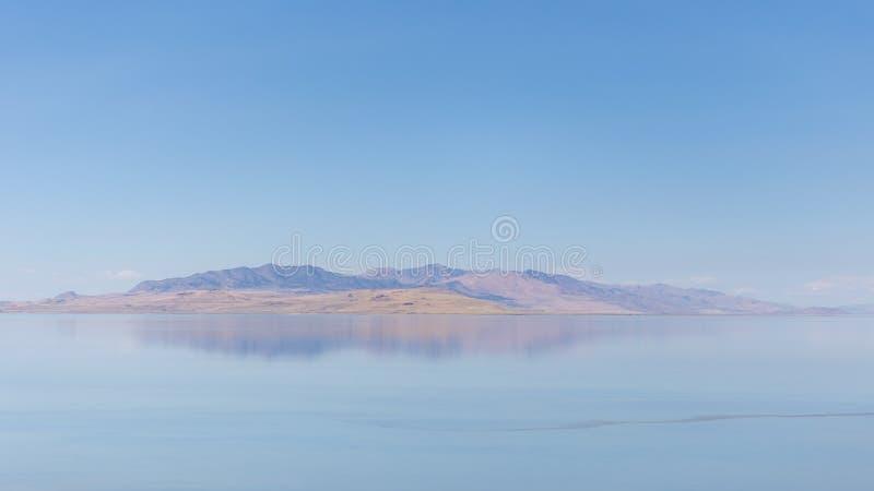 Le Grand Lac Salé photographie stock libre de droits