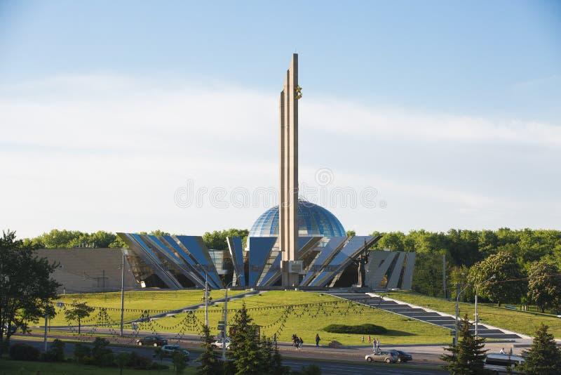 Le grand monument patriotique de guerre photo stock