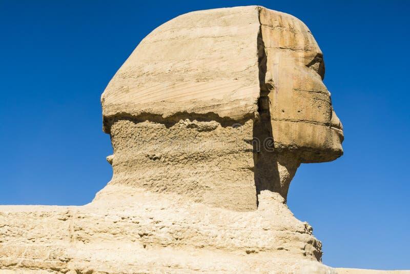 Le grand sphinx de Gizeh, le Caire, Egypte image libre de droits